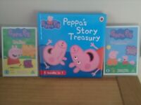 Peppa Pig Bundle WILL POST 2 DVDs of Peppa Pig episodes + Fab story book