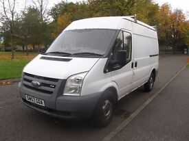 2007 Ford Transit MWB 3.5T - High Top - FULL FORD SERVICE HISTORY*NO VAT*P/EX*FINANCE AVAILABLE*