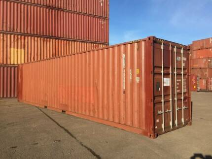 40ft High Cube Shipping Container - in SYDNEY
