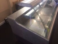 USED VERY GOOD CONDITION COLD DISPLAY 2 METER LONG UNIT very cheap for sale