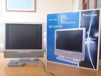 "VENTURER LCD 15-106 Television 15"" Excellent Condition"