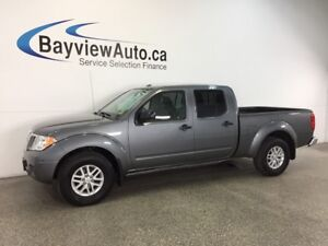 2017 Nissan FRONTIER SV- ALLOYS|4x4|CREW|A/C|BLUETOOTH|CRUISE!
