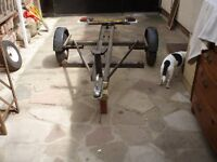 M Dave Cooper single bike trailorotor cycle trailer for sale