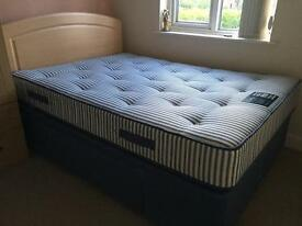 Dreams double bed with headboard and Firm mattress SOLD