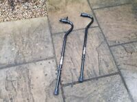 **Offers Welcome** - Pair Of Heavy Duty Disability Walking Sticks / Canes - 31 Stone Weight Capacity