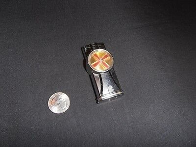 Pocket Lighter spinning wheel windmill butane works novelty vintage