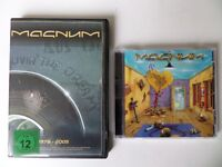 Magnum - The Visitation CD and Livin' The Dream DVD (Live 2005 - 2 discs) Rock/Metal - Free Postage