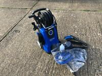 Nilfisk E 130 bar Pressure Washer with Patio Cleaner and Drain Cleaner