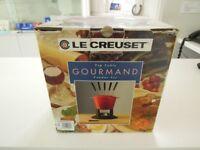 Le Creuset, TOP TABLE GOURMAND FONDUE SET