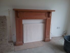 Wooden fire surround (with marble back at extra cost, if required)