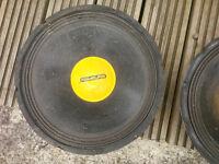 12'' speakers