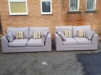 Great Brand New light grey sofa suite. 3 +2 seaters. Brand new. delivery available