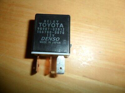 TOYOTA RAV4 2003 D4D 5DR DENSO 12V GLOW PLUG RELAY 28610-67010 156700-0671