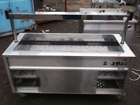 Moffat hot cupboard with large dry well Bain Marie & heated gantry