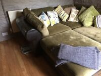 Corner Sofas in immaculate condition...modular arrangement to fit any living room.