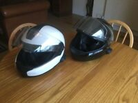 BMW Mottorad System 6 helmets size 58/59 used 3 times fitted with after market Bluetooth sets fitted
