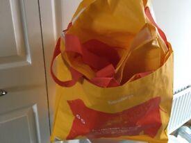 6 Sainsbury's Bags for life
