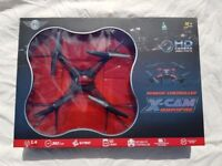 X Cam quadcopter with HD camera - Drone