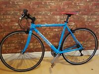 "Cannondale R500 CAAD4 Hybrid Bike 20""Frame/21speed/10kgWeight (Carbon forks) RRP £900"