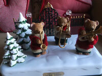 CAROLS PLAYED BY THESE LOVELY BEARS