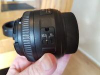 Nikon 35mm F1.8G AF-S DX Prime Lens