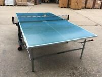 Green Kettler Stockholm GT Outdoor Table Tennis Table *ASSEMBLED* (mint condition) COLLECTION ONLY