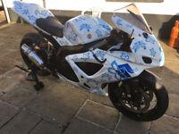 2007 Suzuki GSXR 750 track/race bike