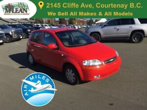 2005 Chevrolet Aveo LT Sunroof Alloy Wheels