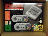 Super Nintendo Snes Mini Classic Console Brand New BNIB Stockton TS19 Elm Tree Area
