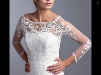 Brand new bridal Belero Ivory Size L BUST - 39 inches / 100cm