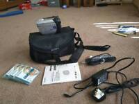 Sony handycam camcorder with accessories