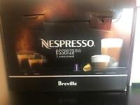 Nespresso essenza mini and AEROCCINO3