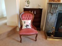 Vintage SpoonBack Nursing Chair 2 available. local delivery possible