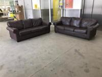 2x 3 seater sofa, Free delivery