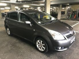 7 Seater Toyota verso, 2008 1.8 letter.