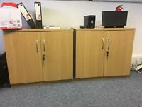 Office cabinets x 2
