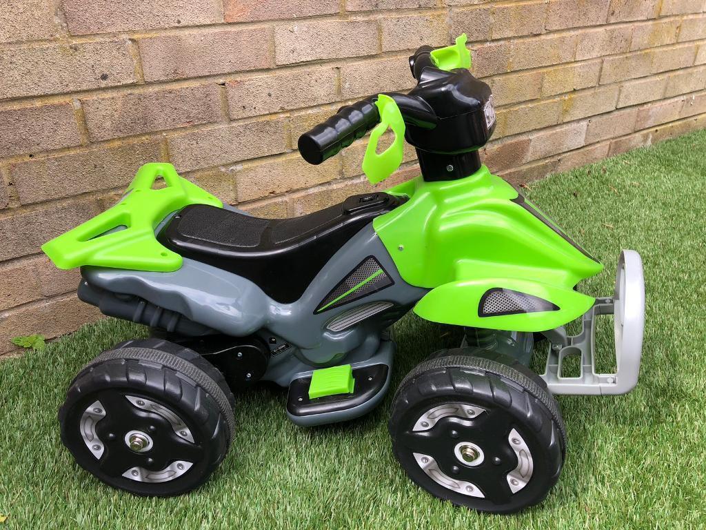 37086ffa5 Kids Ride On 6V Battery Powered ATV Quad - Green
