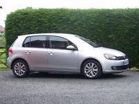VW Golf Tsi 1.4 SE, 2011. Silver all normal SE extras.