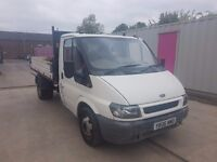 FORD TRANSIT 350 TIPPER MWB TD 2006REG FOR SALE