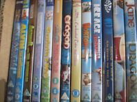 Children's DVD's for sale - 45 DVD's in total. £20.00 for the lot.