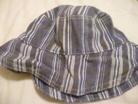 Selection of kids winter and summer hats (various sizes)