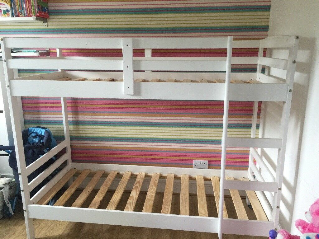 White Shorty Bunk Beds In Burnage Manchester Gumtree