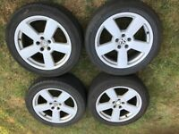 "18"" Audi / VW wheels - 5x112 pcd (set of 5)"