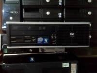 Hp core2duo wifi dvd windows7 office