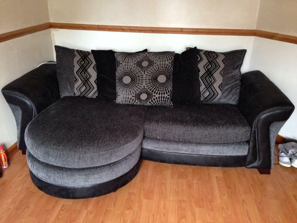 Dfs Couch Cuddle Chair And Footstool United Kingdom Gumtree