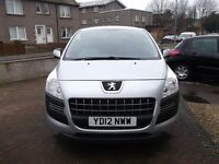 FOR SALE 2012 PEUGEOT 3008