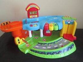 BRAND NEW TOOT TOOT PLAY SETS - GARAGE/ AIRPORT/ CONSTRUCTION YARD