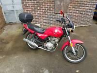 Ajs 125 motorbike