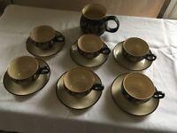 Coffee Cups DENBY VINTAGE RETRO
