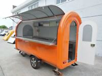 Mobile Catering Trailer Burger Van Pizza Trailer Hot Dog Ice Cream Cart 3400x1650x2300